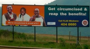 Circumcision roadside advertising