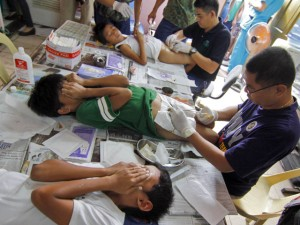 circumcision of boys in the Philippines