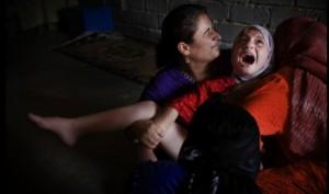 Kurdish girl being circumcised
