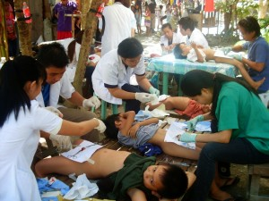 circumcision of boys in Manilla