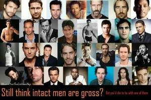 famous intact men