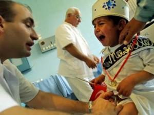 turkish boy being cut